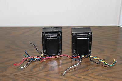 Pair Fisher 500B Pp Output Transformers  7591 Tubes Amplifier
