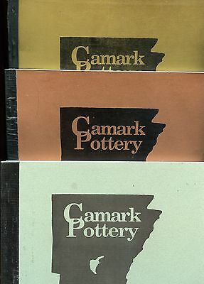 Arkansas Camark Art Pottery - Identification Values / 3-Volume Book Set