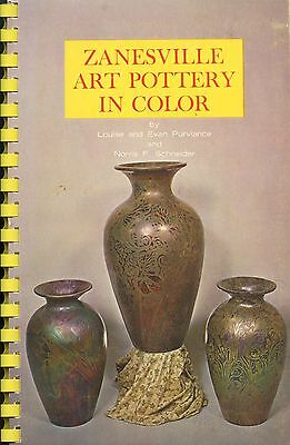 Zanesville Art Pottery - Weller Roseville Owens American Encaustic / Book+Values