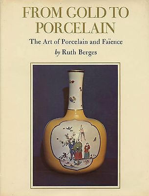 Antique European Porcelain Faience - Origins Makers Types / Scarce Book