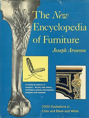 Antique Furniture Encyclopedia - Periods Types Makers 2,000 Illustrations / Book