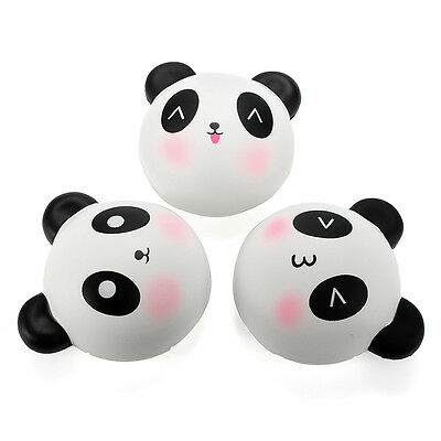 Meistoyland Squishy Panda Bun 8cm Slow Rising With Packaging Collection Gift