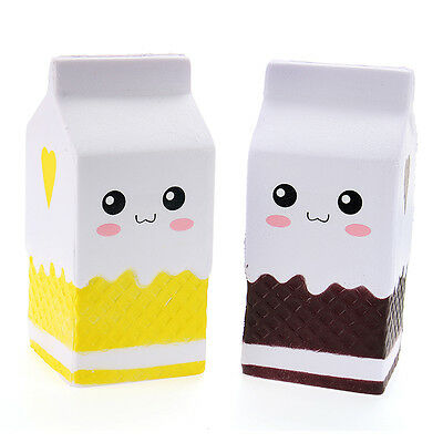 Squishy Jumbo Milk Bottle Box 11cm Slow Rising Soft