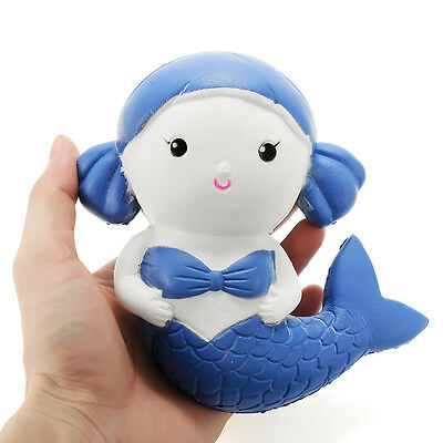 Squishy Mermaid 15cm Slow Rising Collection Gift Decor Soft Squeeze Toy