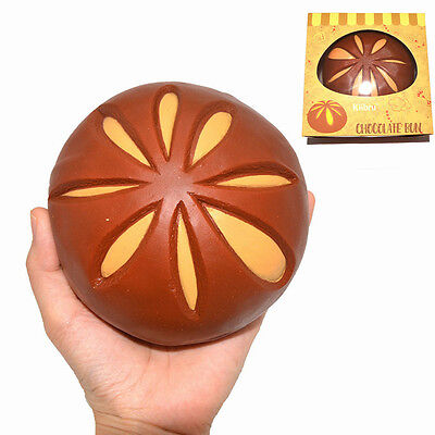 Kiibru Squishy Chocolate Bun Jumbo 12cm Slow Rising Original Packaging