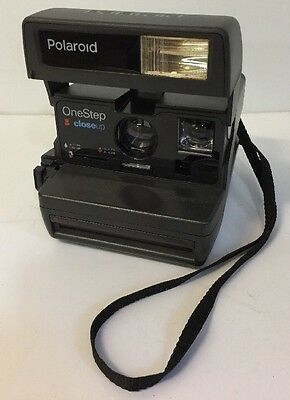 Polaroid One Step Close Up 600 Instant Camera Tested Working No Damage