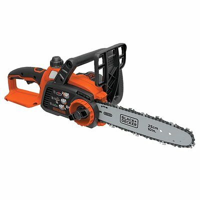 BLACK + DECKER LCS1020B 10-Inch Lithium Ion Chainsaw, 20-Volt, Baretool