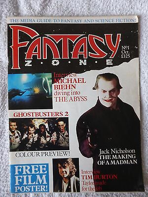 Fantasy Zone magazine set of issues 1, 2, 3, 4, 5 - Excellent Condition