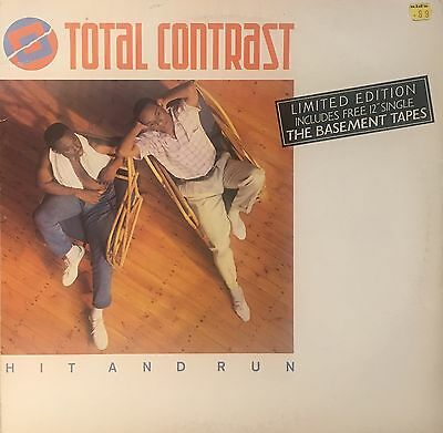 "TOTAL CONTRAST Hit And Run London 12"" LONDX76 PLUS FREE 12"" The Basement Tapes"