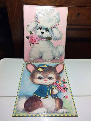 Vintage extra large Coby cards made in Canada