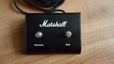 Marshall Dual Footswitch for use with  MG/DFX series  Channel / DFX