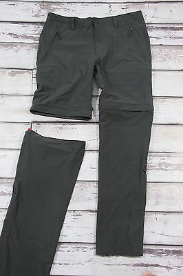 THE NORT FACE trekking ultralight zip off trousers and shorts 2in1