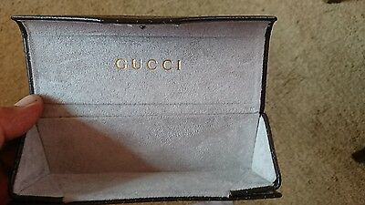 Gucci Folding Glasses Case Vintage with cleaning cloth