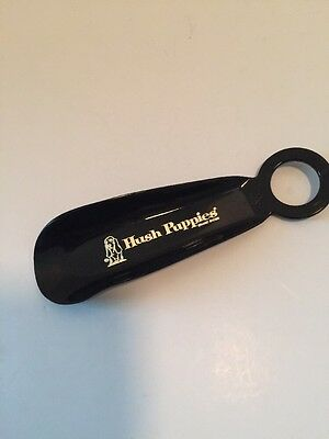 Vintage Black Hush Puppies Brand Advertising Shoe Horn Basset Hound