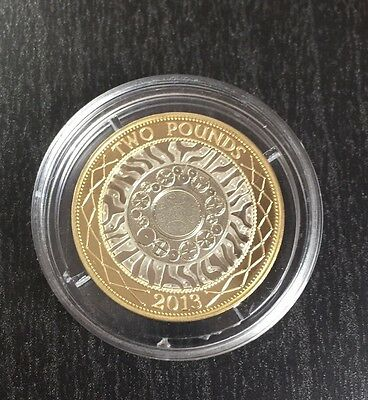 2013 £2 PROOF Coin Development of Technology Royal Mint Two Pound Coin