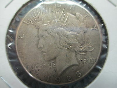 1928 United States Peace Silver Dollar Key Date