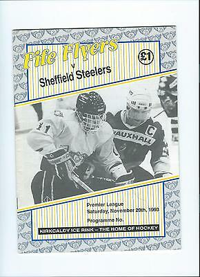 93/94 Fife Flyers v Sheffield Steelers  Feb 12th
