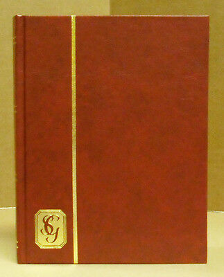 Gibbons Stock Book -Small Size - 32 White  Pgs - Red Cvr - New    #sgib-R2684Red