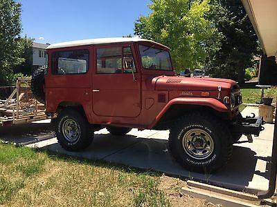 1973 Toyota Other  Land Cruiser FJ40 and 3b diesel with H55F 5 speed