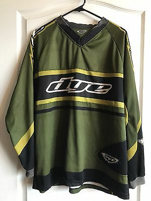 OG Rare Old School Dye Hockey Olive Jersey Paintball FREE SHIPPING