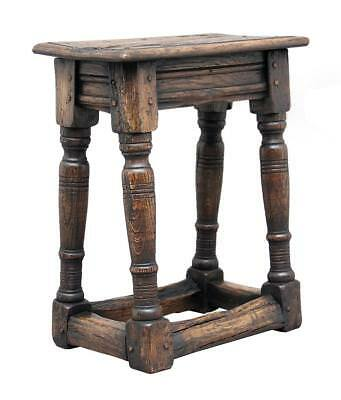 1920's 20TH CENTURY OAK JOINT STOOL