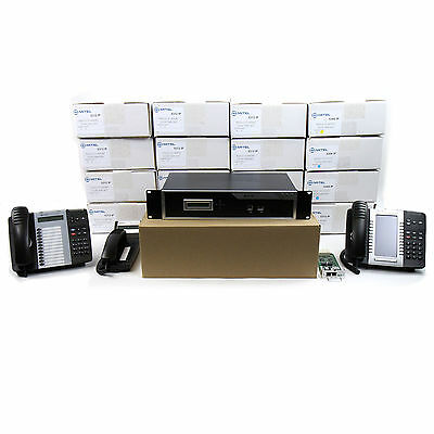 Mitel 5000 HX Complete Phone System Kit - Controller w/ 16 53xx Series Phones