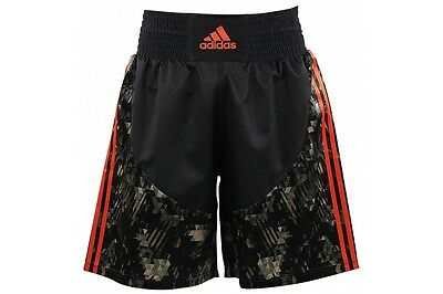 Adidas Camo Boxing Shorts Lightweight Camouflage Mens S M L XL