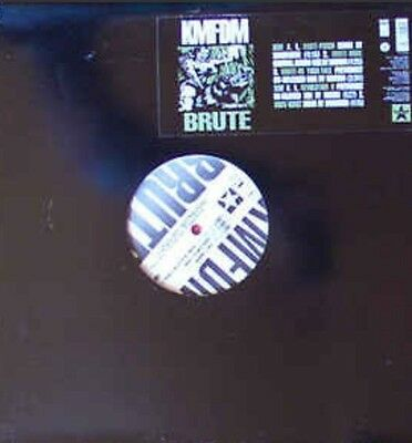 "Rare Original KMFDM BRUTE 12"" Vinyl 1995 Wax Trax TVT Press MINT! NIN Ministry"