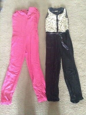 Set of two girls jumpsuits from River Island and Next Ages 10