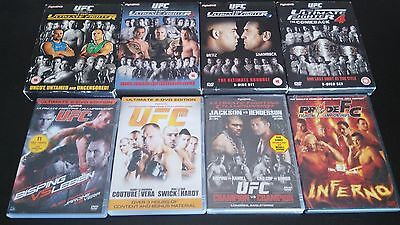UFC MMA Collection - Ultimate Fighter 1,2,3,4 - Pride FC Inferno