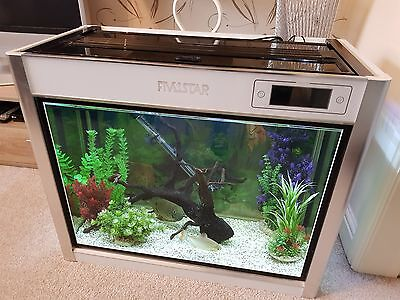 170 litre aquarium with built in filter heater and led lights