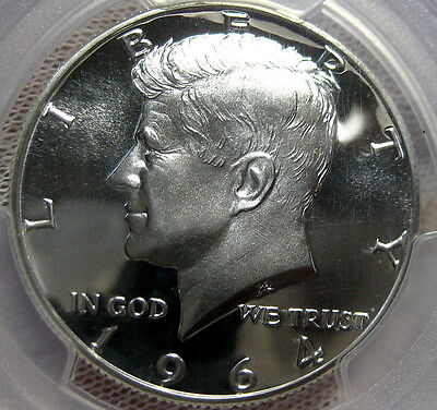 1964 Kennedy Proof Half Dollar PCGS Certified PR69Cam  Proof 69 Cameo