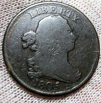 1805 Half Cent Affordable Circulated