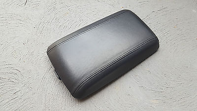 VY VZ Leather Centre Console Lid HSV SS GTO Clubsport Maloo Armrest Black Monaro