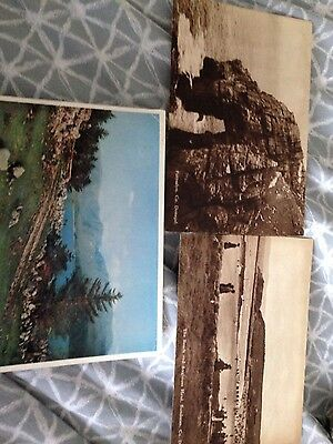 3 postcards of Donegal  Ireland