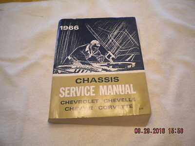 Chassis Service Manual, Chevrolet Chevelle Corvette Chevy Ii