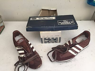 NOS NIB New Vintage Sears Winner II Runner Athletic Shoes Size 10 With Box 1977?