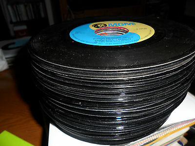Wholesale Lot of 12 Re-Issued Super Hits/Original Artist 45RPM Records
