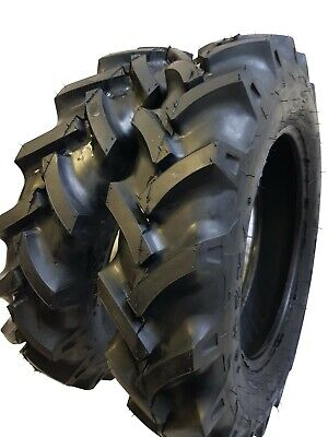 (2 TIRES + 2 TUBES) 6.00-16 8PLY ROAD WARRIOR R1 Farm Tractor Tire 600168