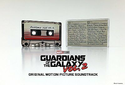 GUARDIANS OF THE GALAXY Awesome Mix Vol 2 CASSETTE Tape Soundtrack NYCC