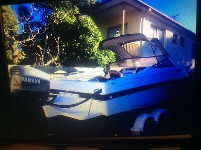Allison Fishing Power Boat 6m with 200hp Yamaha