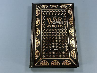 The War of the Worlds by H G Wells, Collector's Edition, Leather Binding RARE!!