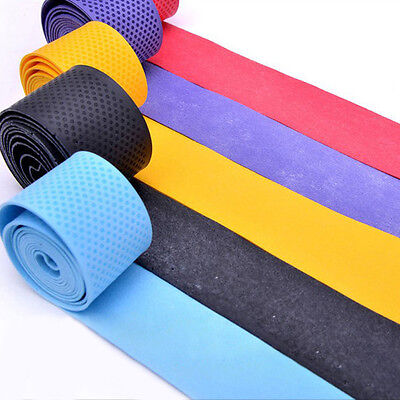 10/20/30PCS Absorb sweat stretchy Tennis Squash Racquet Band Grip Tape Overgrip
