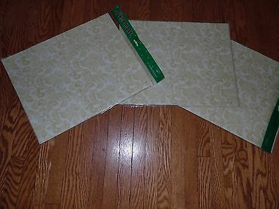 35Pc Lot Nip Paper Art Christmas Foliage Paper Placemats 3 Packages