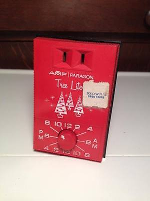 Mid Century AMF Paragon Tree Lite electrical timer vintage christmas