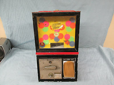 "Vtg Victor ""77"" Toy/Gumball Vending Machine"