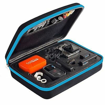 Medium Travel Storage Carry Hard Bag Case Go Pro HERO 6 5 4 Session 3+ 3 Camera