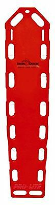 Iron Duck 35717-P-Red Pro Lite XT Spinal Immobilization Backboard with Speed ...