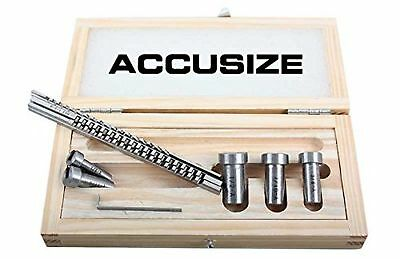 Accusize - No.00 HSS Keyway Broach Precision Sets In Fitted Wooden Box #5100-...