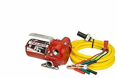 Fill-Rite RD1212NN DC Rotary Vane Pump 12 GPM 10' Quick Connect Power Cord wi...